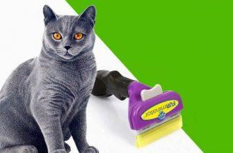 Щетка для кошек фурминатор