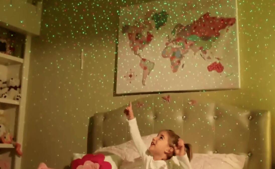 Лазерный звездный проектор Star Shower