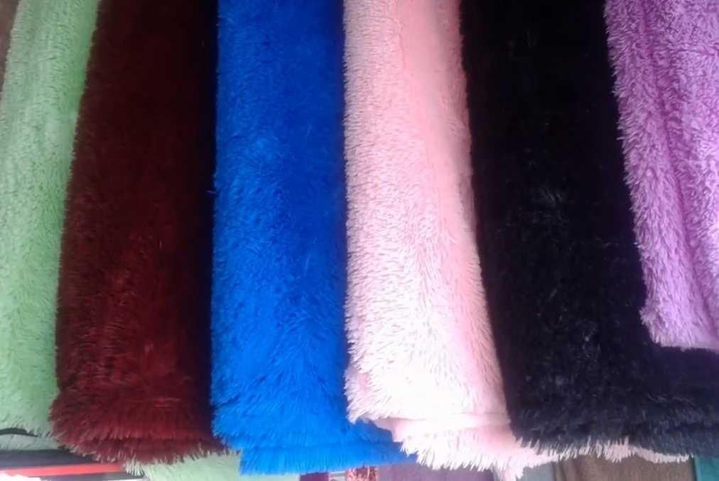 Королевские бамбуковые пледы Fuzzy с флисовой подкладкой