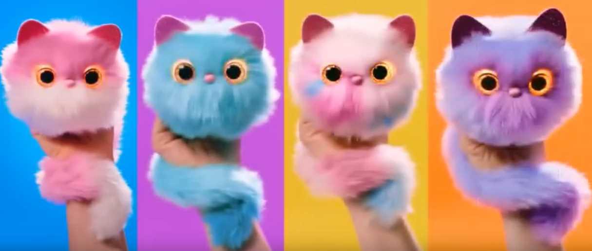 Интерактивные плюшевые котики Pomsies