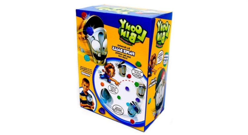 Интерактивная игрушка чокнутое ведро Loony Bin