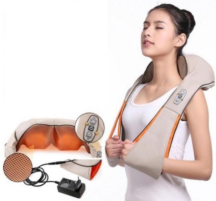 Характеристики массажера для шеи и спины с прогревом
