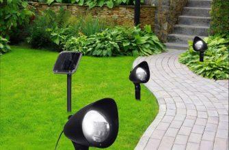 Лампы на солнечной батареи