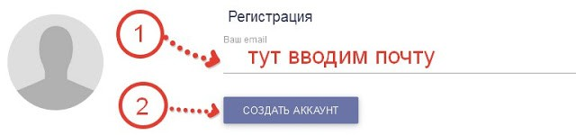 Globus вводим электронную почту