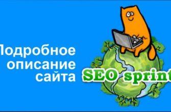 Полный обзор сайта Seosprint