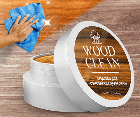 Средство для обновления древесины WoodClean