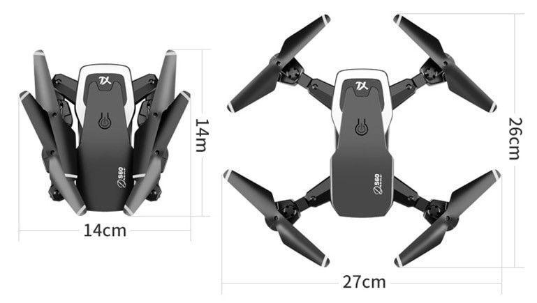 Характеристики дрона