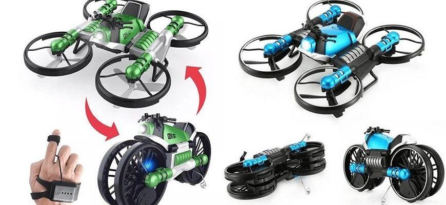 Мото-квадрокоптер Fly Drive 2 в 1